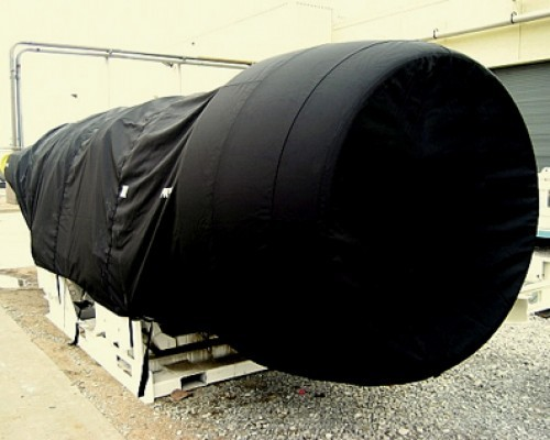 Aircraft Engine Covers - Ballistic Nylon Covers