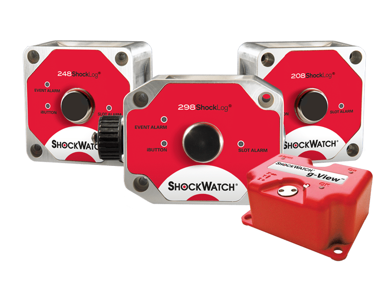 Impact recorders ShockWatch and ShockLog